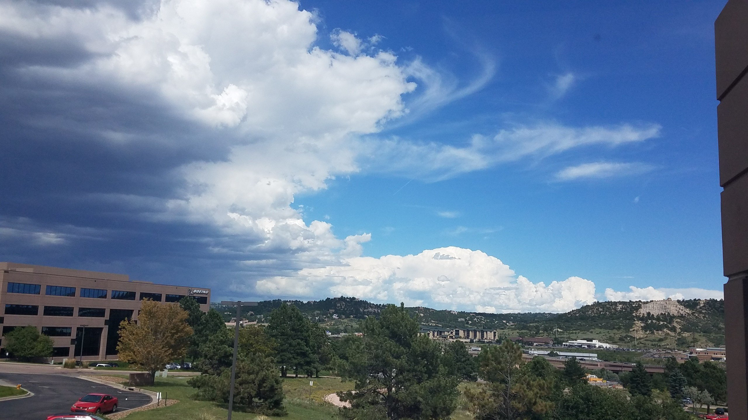 View from KOAA studios this afternoon  (KOAA)