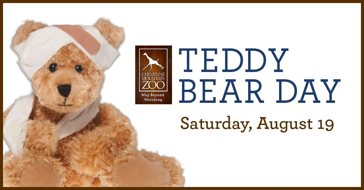 2017 Teddy Bear Day at the Cheyenne Mountain Zoo.