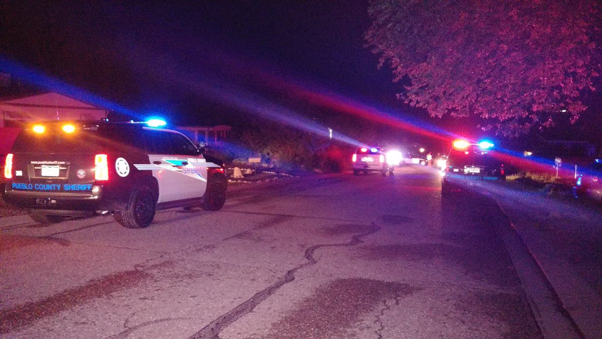 One man was shot and killed by deputies from the Pueblo County Sheriff's Office on Monday night on the 2900 block of Applewood Drive. (KOAA)