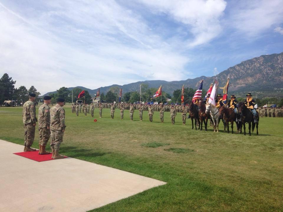 Change of Command Ceremony held Aug. 24, 2017