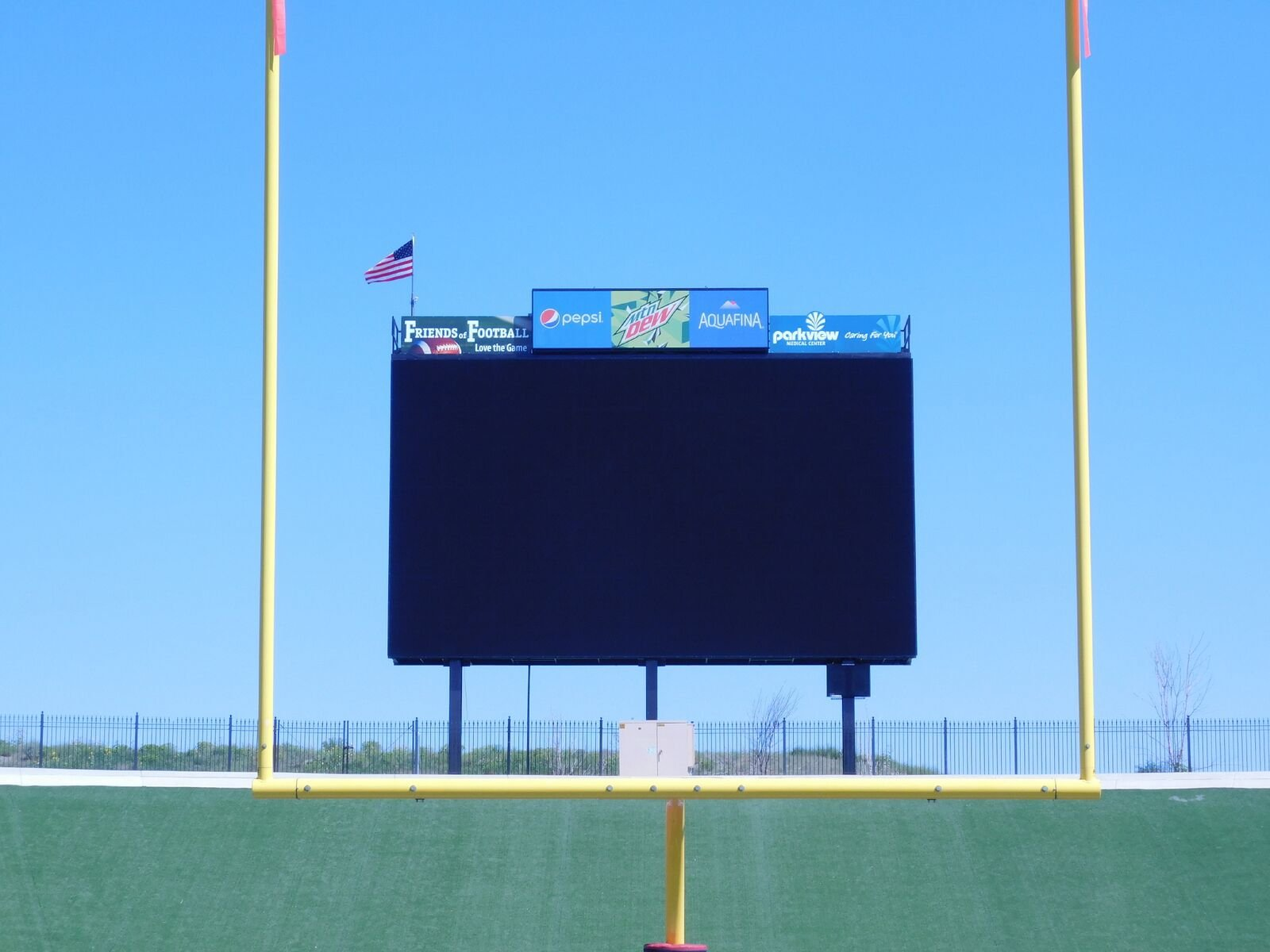 Fans can check out the new scoreboard at the Neta and Eddie DeRose ThunderBowl at Colorado State University-Pueblo Aug. 31st.