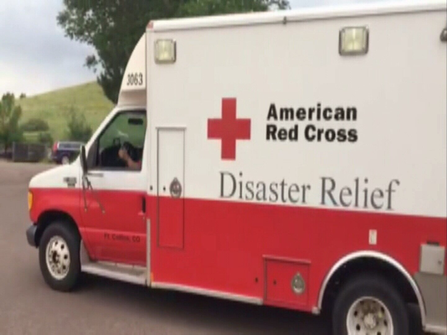 FILE PHOTO: The American Red Cross chapter of Southeastern Colorado dispatched four Emergency Response Vehicles with nine volunteers to Texas for hurricane relief. (KOAA)