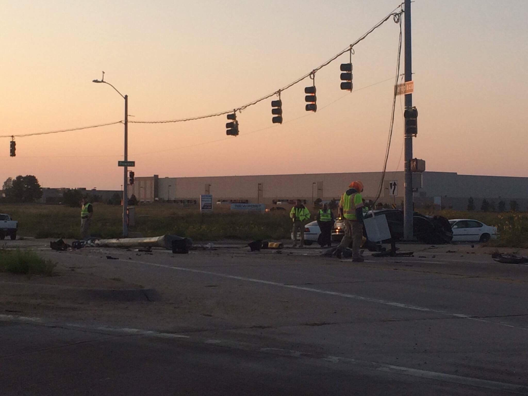 Deadly crash at Powers and Aeroplaza in Colorado Springs.