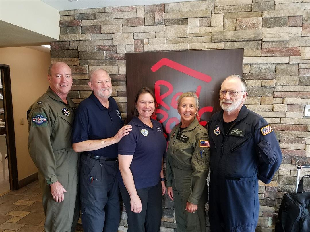 Colorado Civil Air Patrol crew in Texas to aid in Hurricane Harvey efforts.