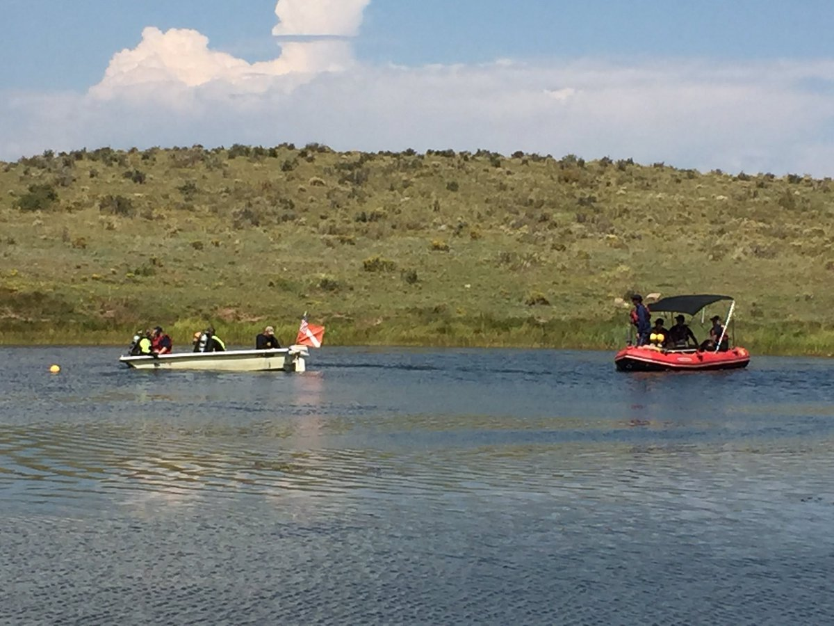 #CSFD divers assist Custer County Sheriff for body recovery via sonar tech | Springs are some of the most accomplished divers in CO