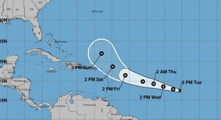 As Hurricane Irma Looms, Tropical Storm Jose Is Forming in the Atlantic