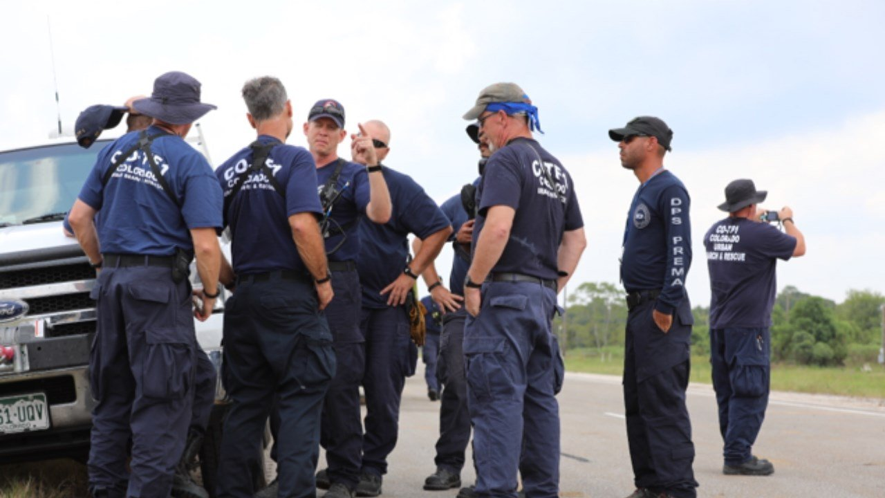Members of Colorado Task Force 1 assisting in post-Harvey efforts. (Twitter: FEMA)