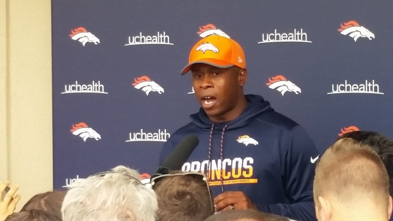 Denver Broncos Coach Vance Joseph (KOAA)