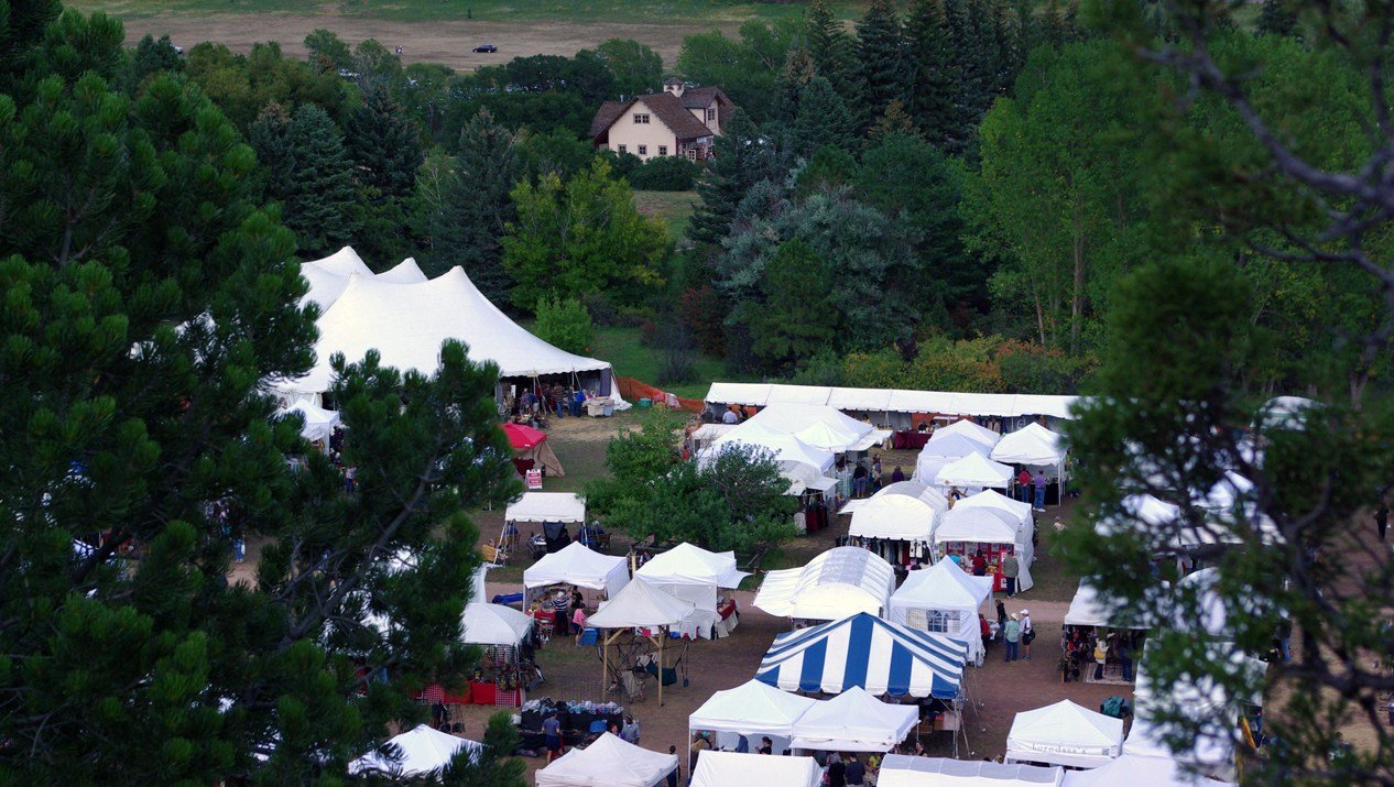The Holly Berry House Folk Art Festival is held annually at Rock Ledge Ranch Historic Site and will start Friday Sept. 15.