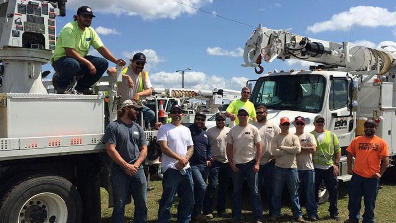 Black Hills Energy crew. (Contributed photo: Black Hills Energy)
