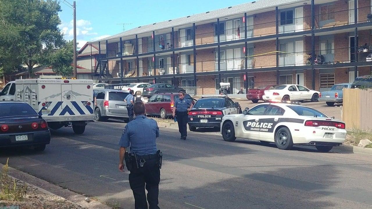 Colorado Springs PD investigates shooting on University Drive. (KOAA)