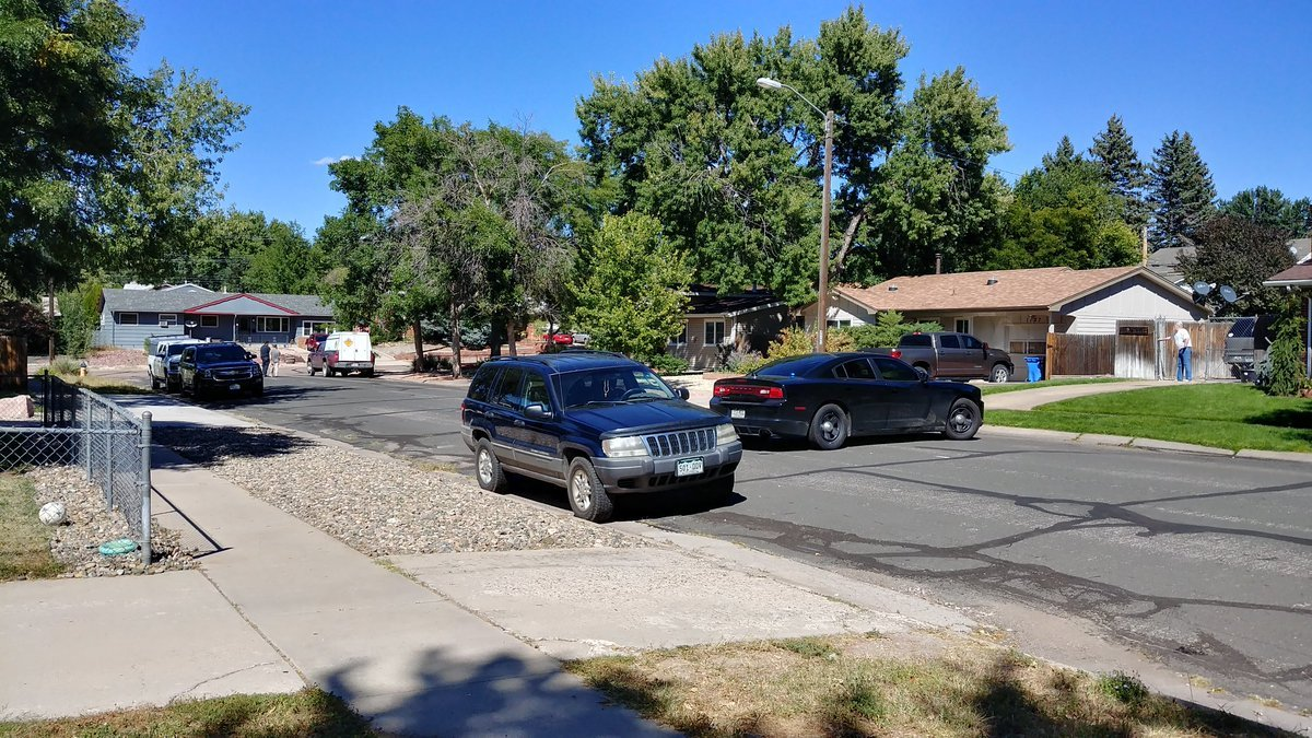 CSPD and Fort Carson EOD on scene at at house on Wynkoop Dr. investigating an unknown ordinance.