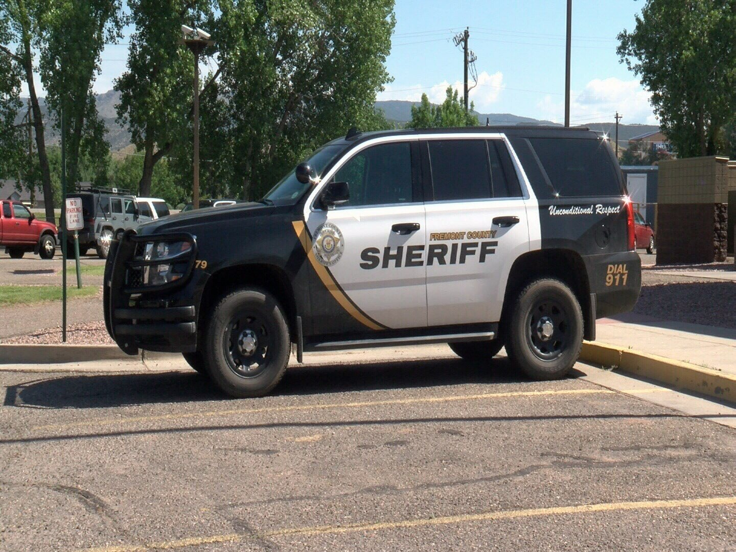 Fremont County Sheriff's Office Patrol Car