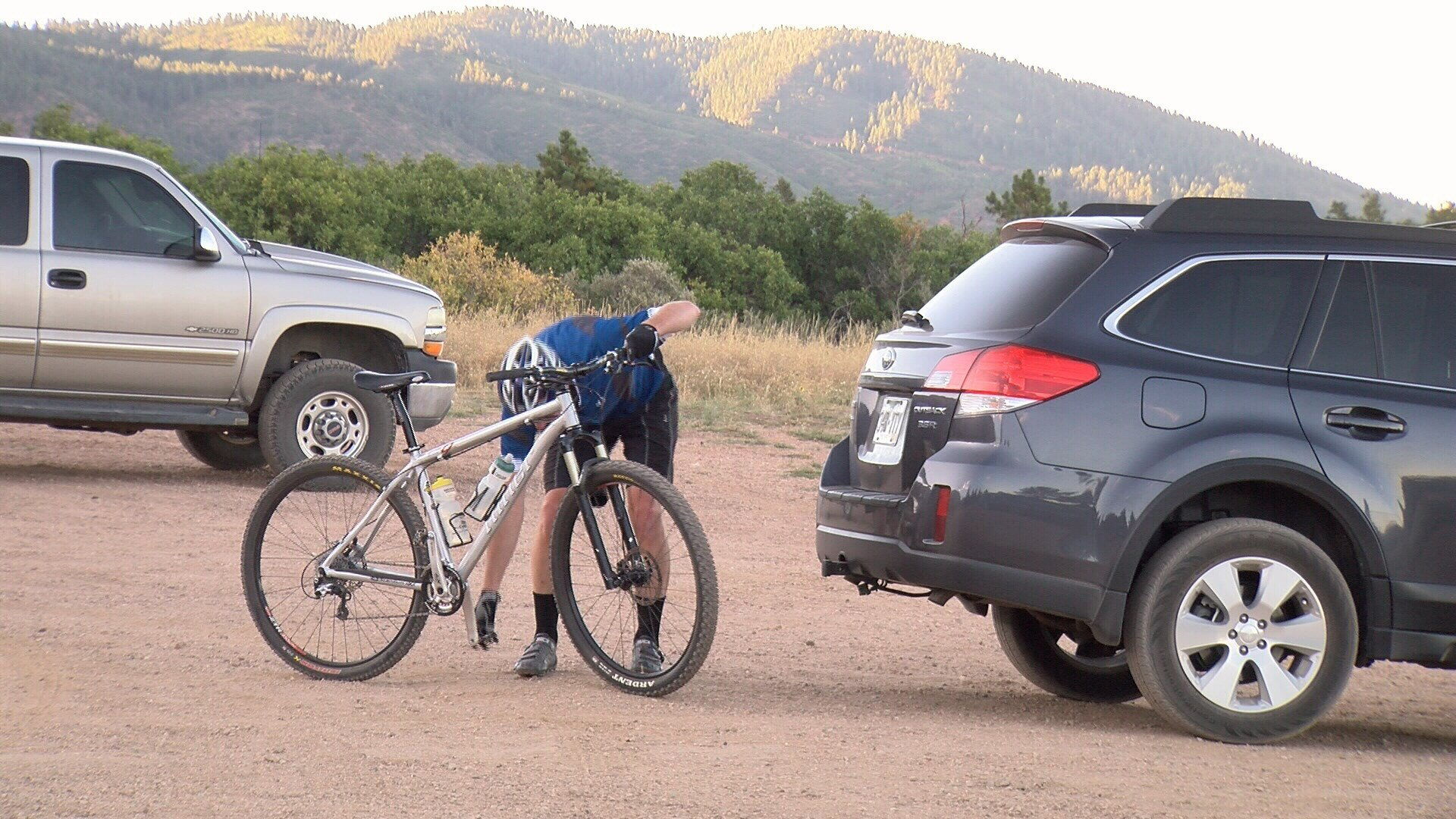 Palmer Lake community responds to the homicide of missing cyclist Tim Watkins. (KOAA)