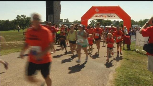 Colorado Springs 2017 Kidney Walk is this Sunday September 24th at Memorial Park