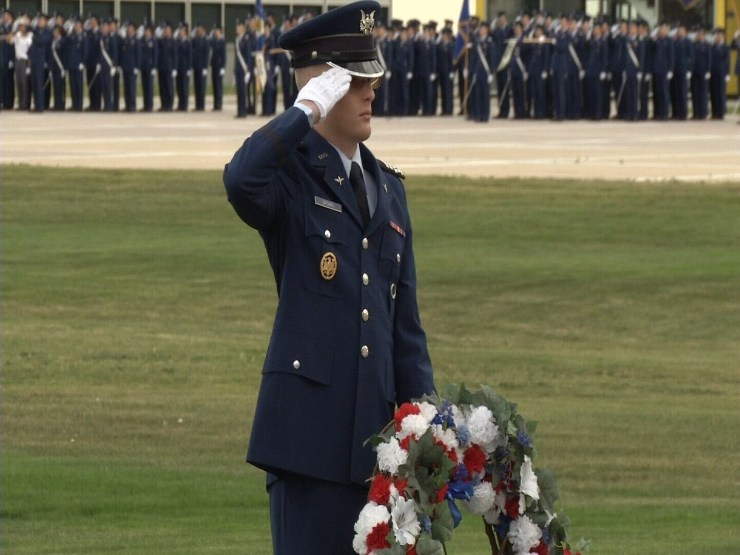 Air Force Academy cadets and graduates that have died in the past year were honored in a Memorial Ceremony on Friday afternoon. (KOAA)