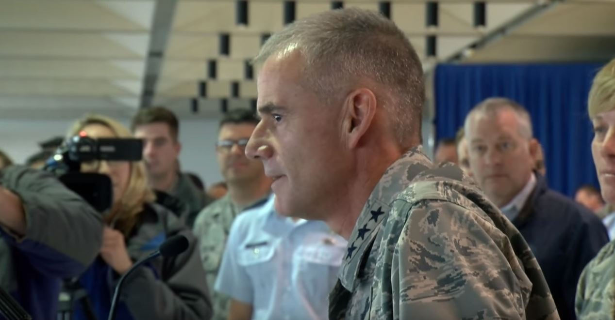 Lt. General Jay Silveria, Superintendent of the US Air Force Academy. (KOAA)