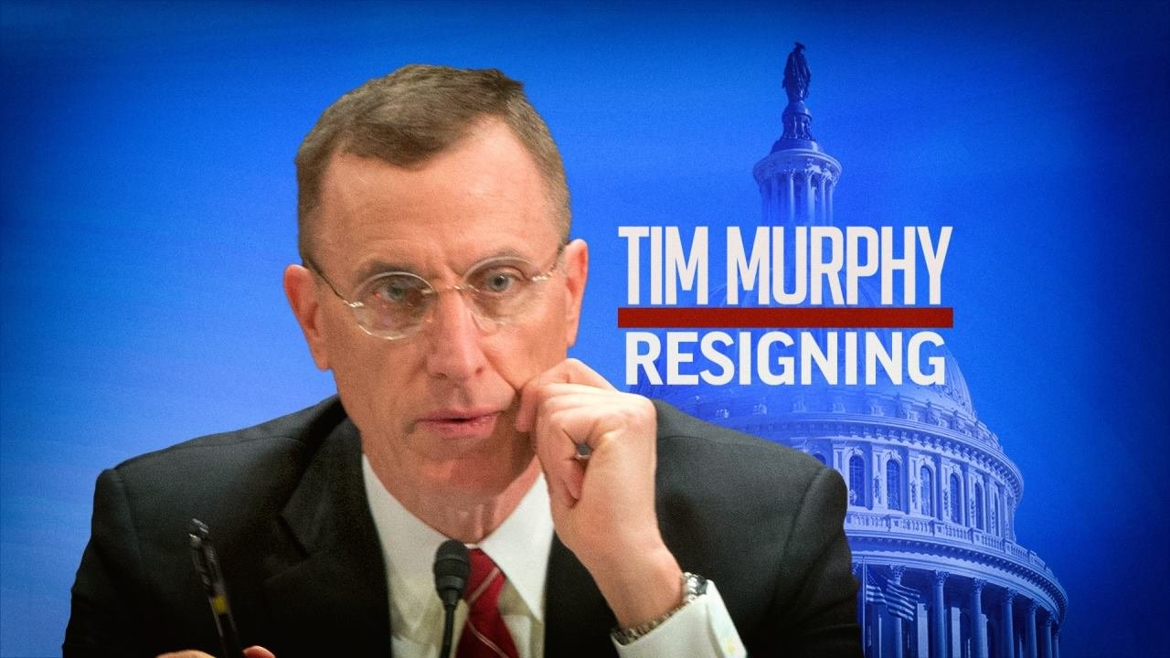 Rep. Tim Murphy (R - Pennsylvania) to resign.