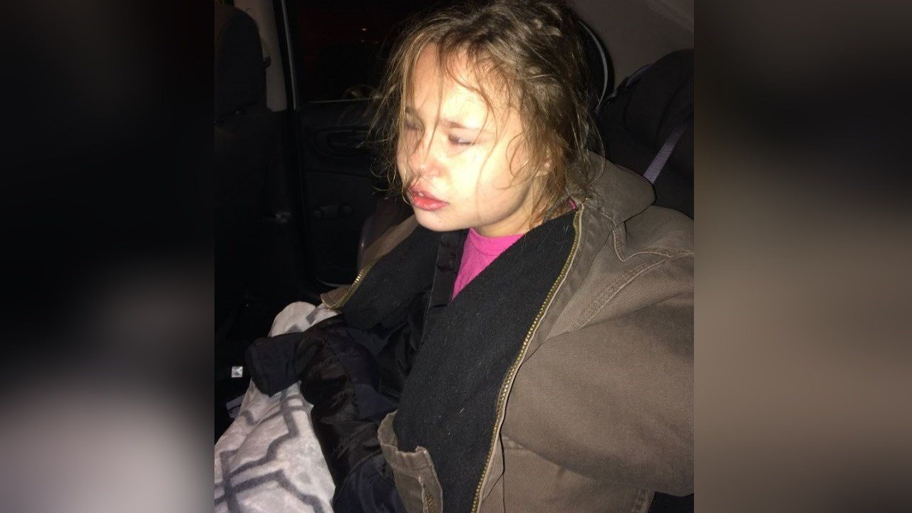 This girl was found on the 5700 block of Cisco Drive in Colorado Springs. (Colorado Springs Police Department)