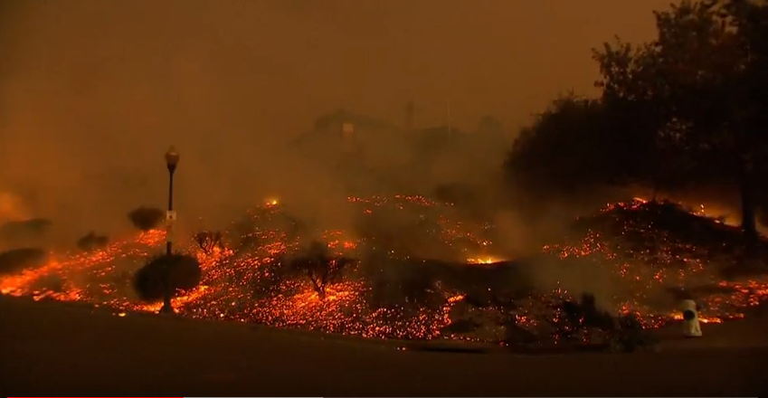 Wildfires hit California, cost of fighting them concerning officials