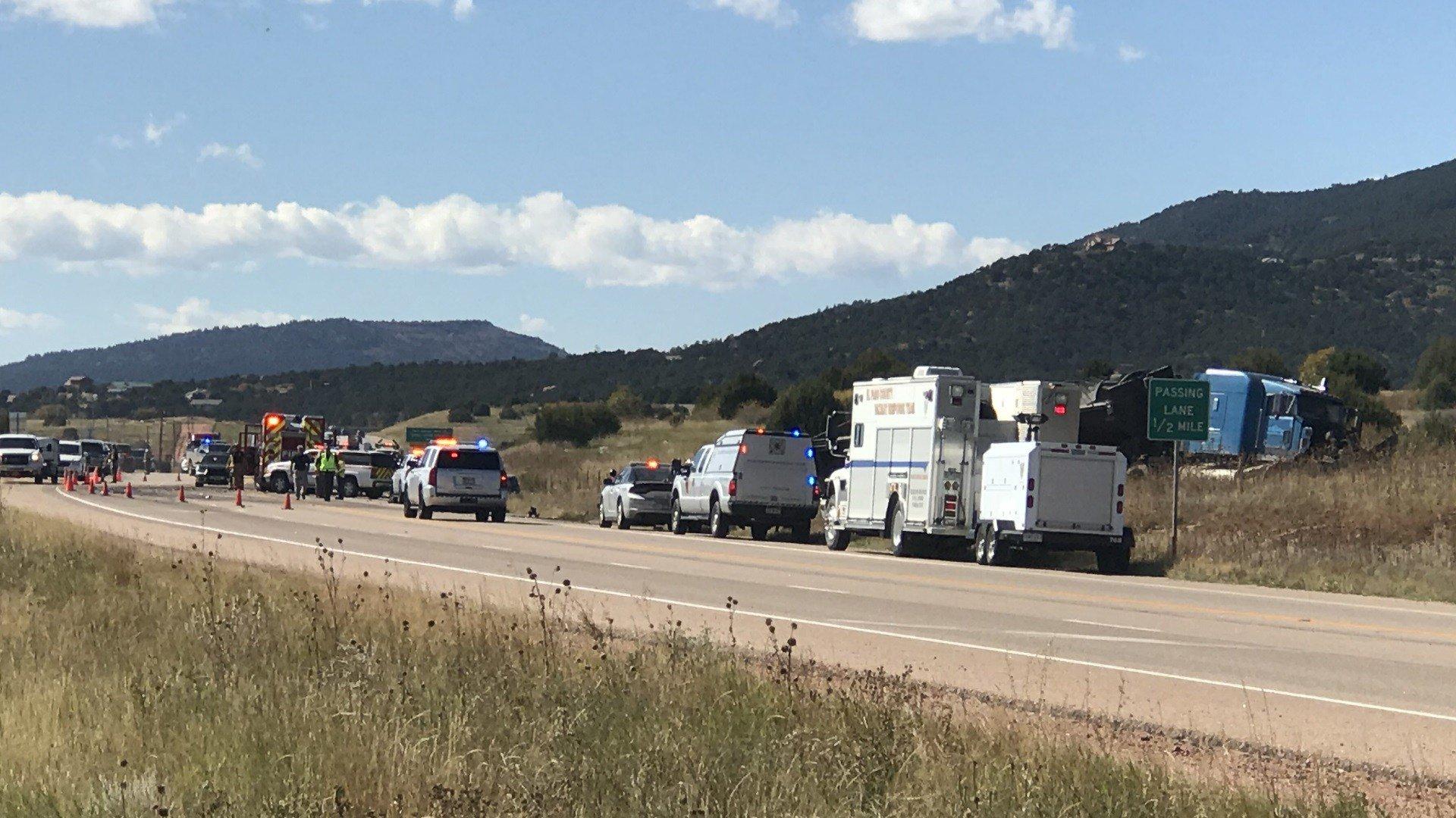 Colorado State Patrol investigates fatal crash on Highway 115. (KOAA)