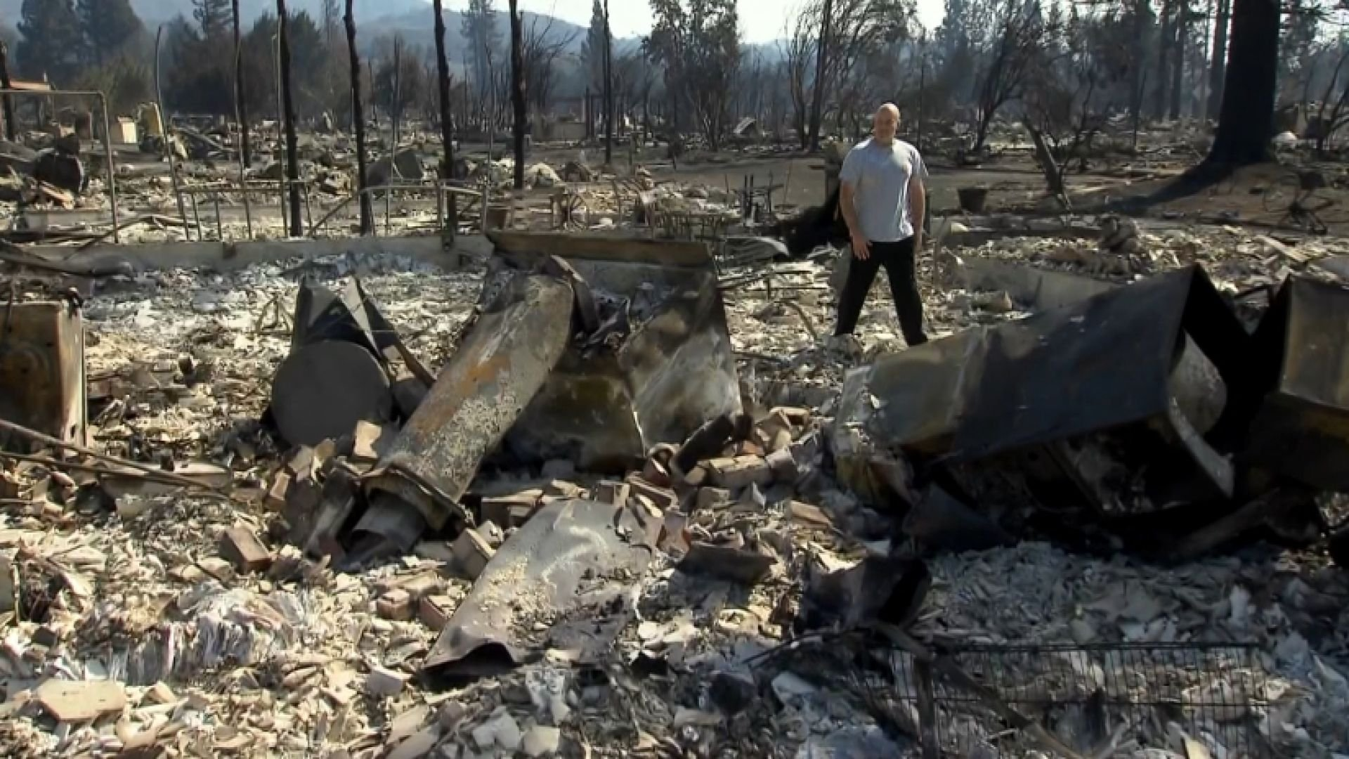 At least 31 people killed in California wildfires.