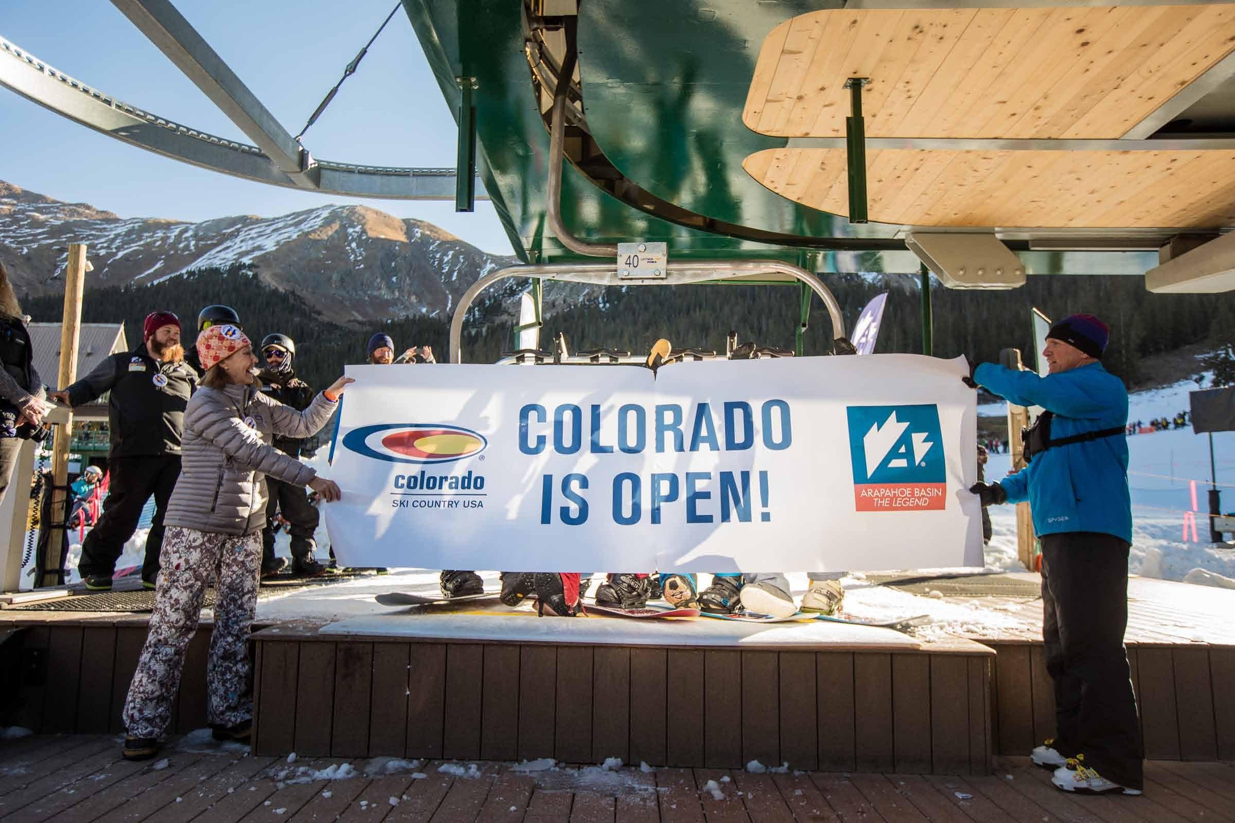 2017-2018 ski season underway at A-Basin.
