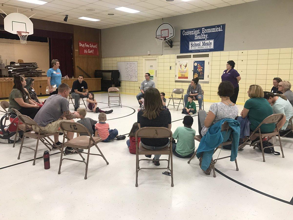 Kidpower Colorado holds a class on dealing with strangers at Talbott STEAM Innovation School on Thursday. (KOAA)