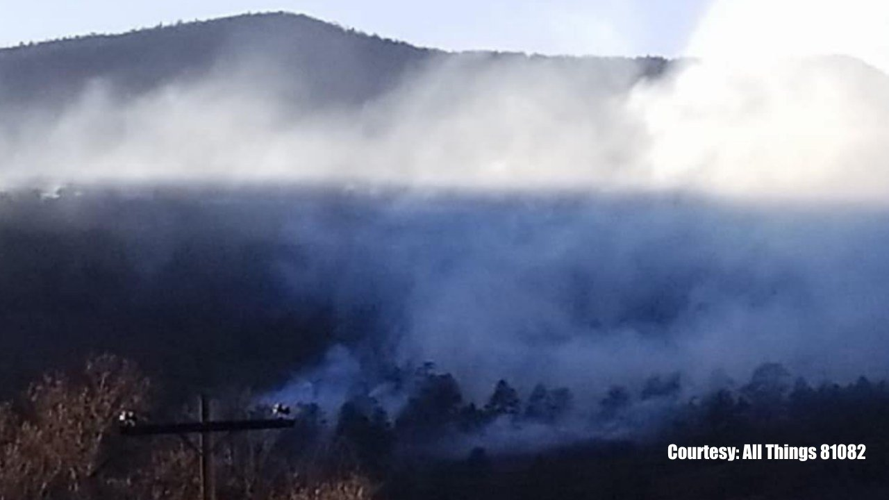 Raspberry Fire in Huerfano County. (Facebook)