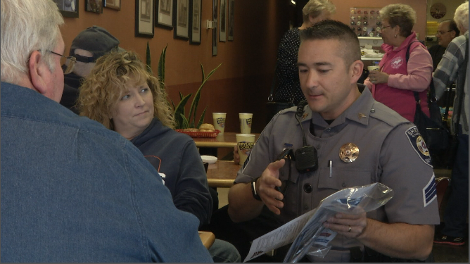 Coffee with a Cop event brought in several people in the Cimarron Hills neighborhood to talk with El Paso County Deputies