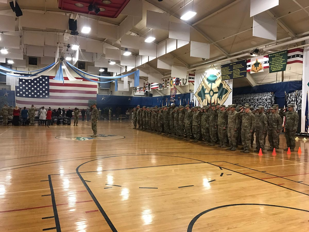 80 Fort Carson soldiers welcomed home after a nine month deployment to Europe. (KOAA)