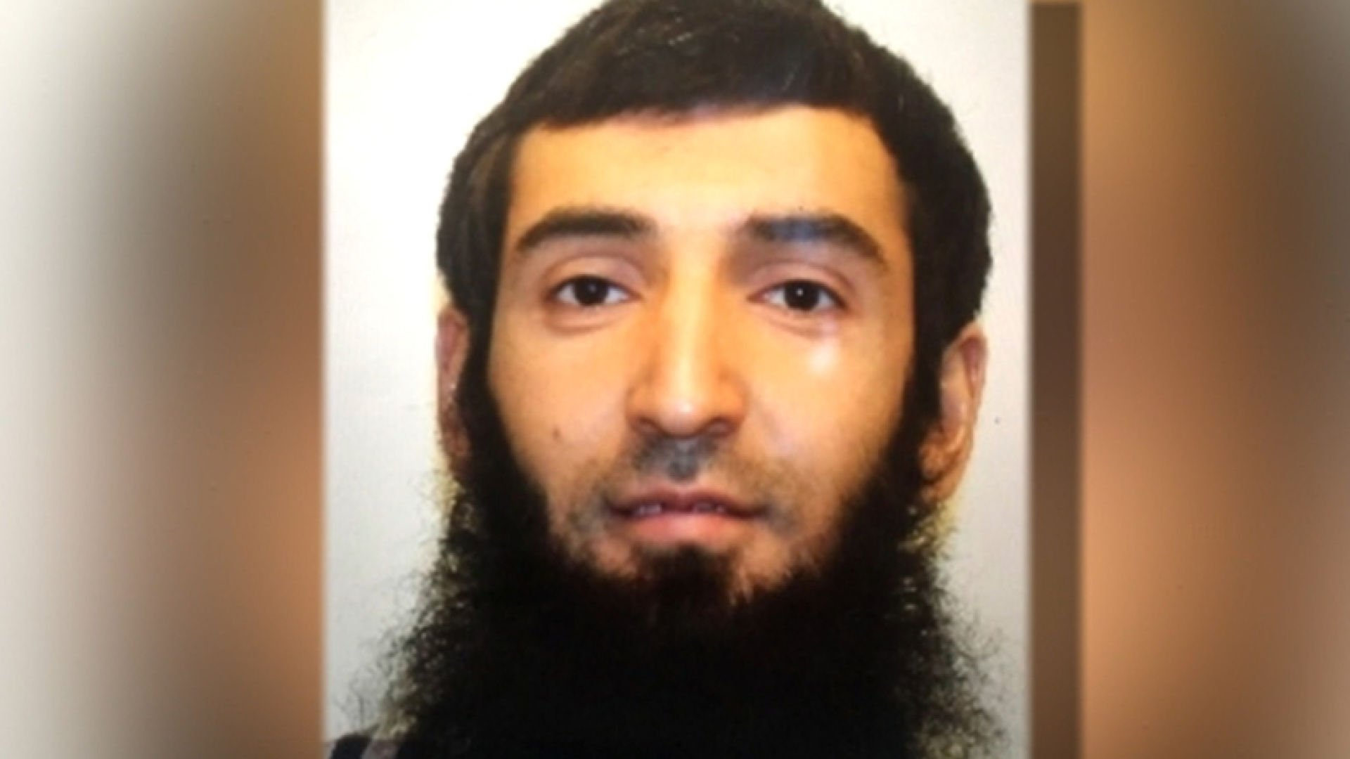 Sayfullo Habibullaevic Saipov, accused of killing 8 in New York City terror attack.