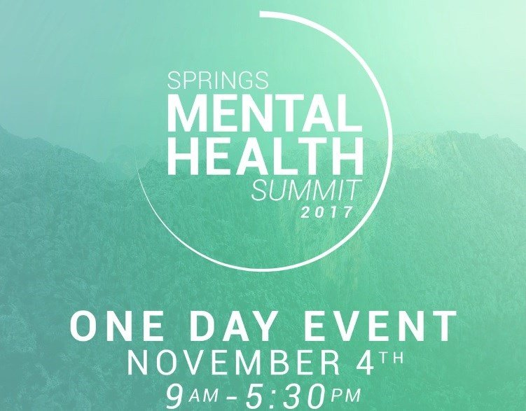 It's a one day conference intended to empower and equip everyone with the tools needed to understand and support the mental health needs in our community.