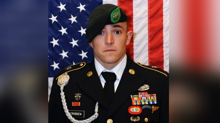 Sgt 1st Class Stephen Baxter Cribben died during combat operations in Afghanistan.