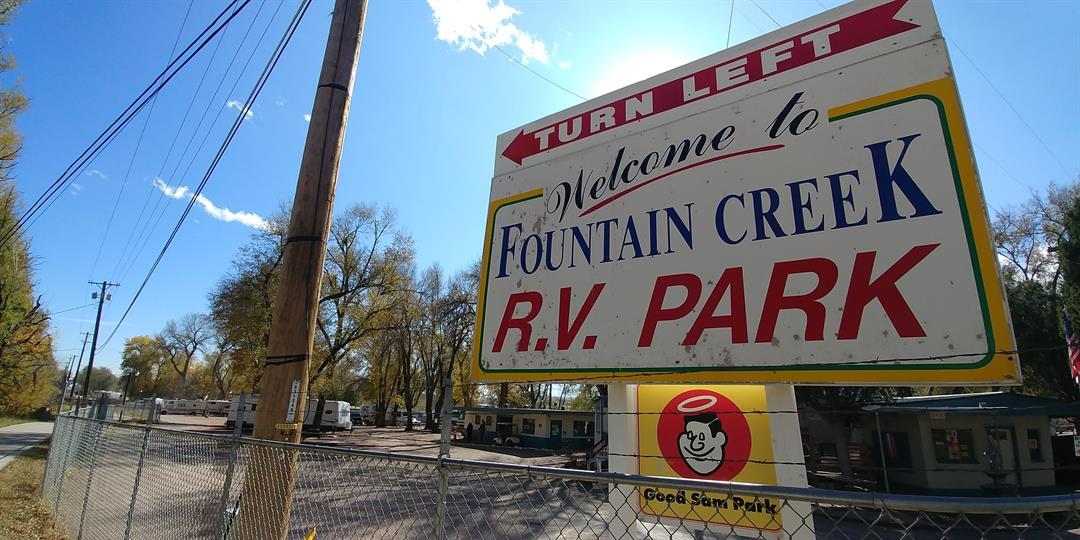Fountain Creek RV Park in Old Colorado City