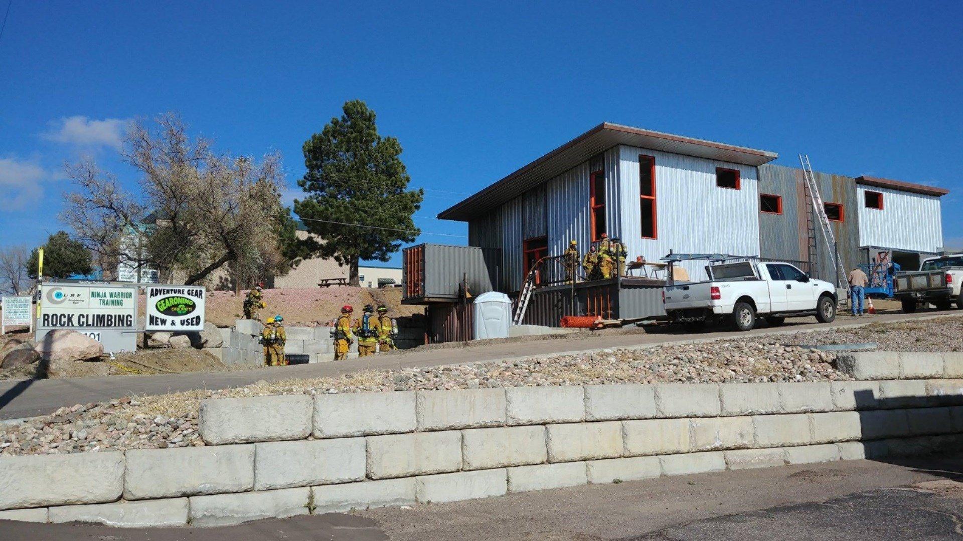 CSFD puts out a fire inside a business on 8th Street. (KOAA)