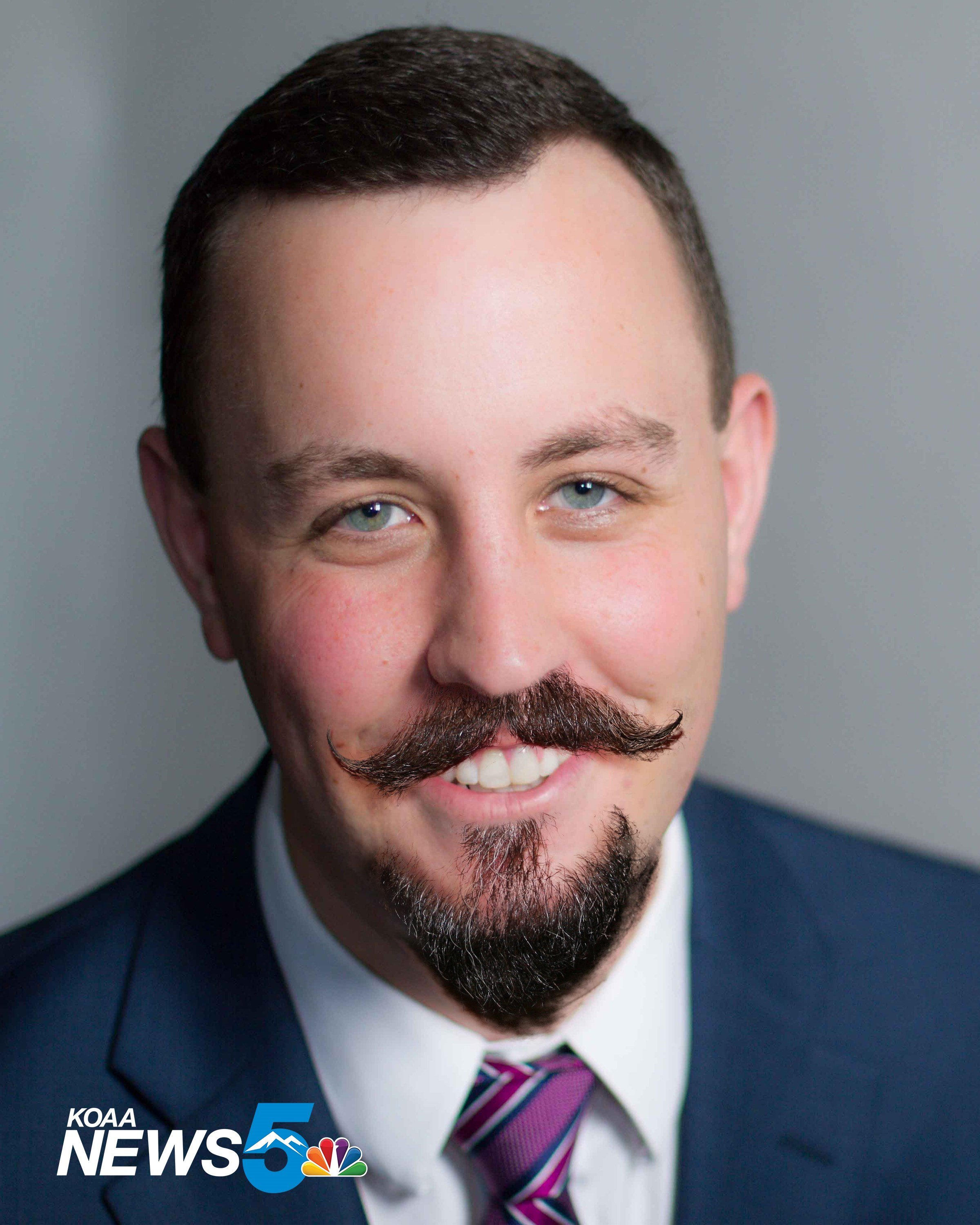 Artist's rendition of how Sam Schreier would look with a goatee, mustache combo. (KOAA)