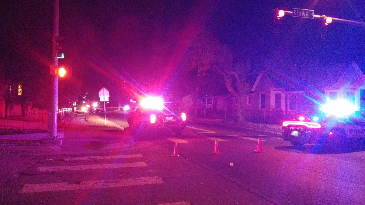 Police investigating deadly crash on Bijou and 30th.