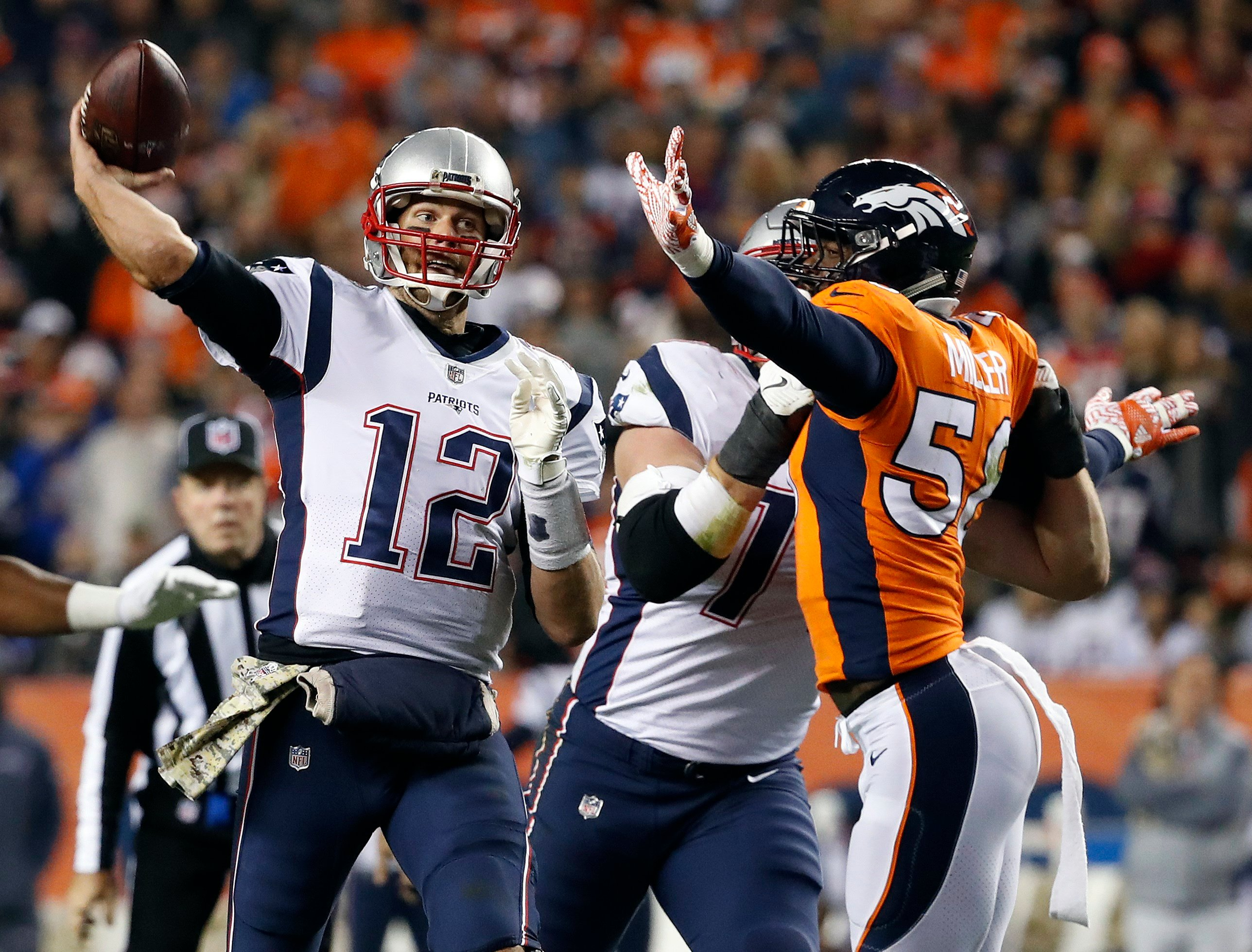 Patriots hand Broncos 5th straight defeat