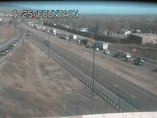 Multiple crashes reported on NB I-25 between the South Academy and Fountain Blvd. exit
