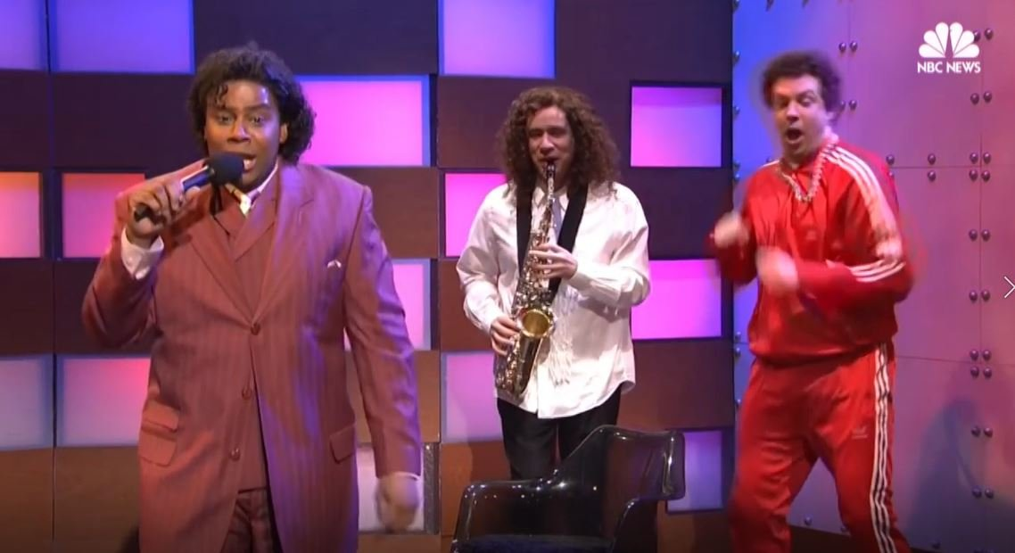 """Kenan Thompson during a skit on """"Saturday Night Live."""""""