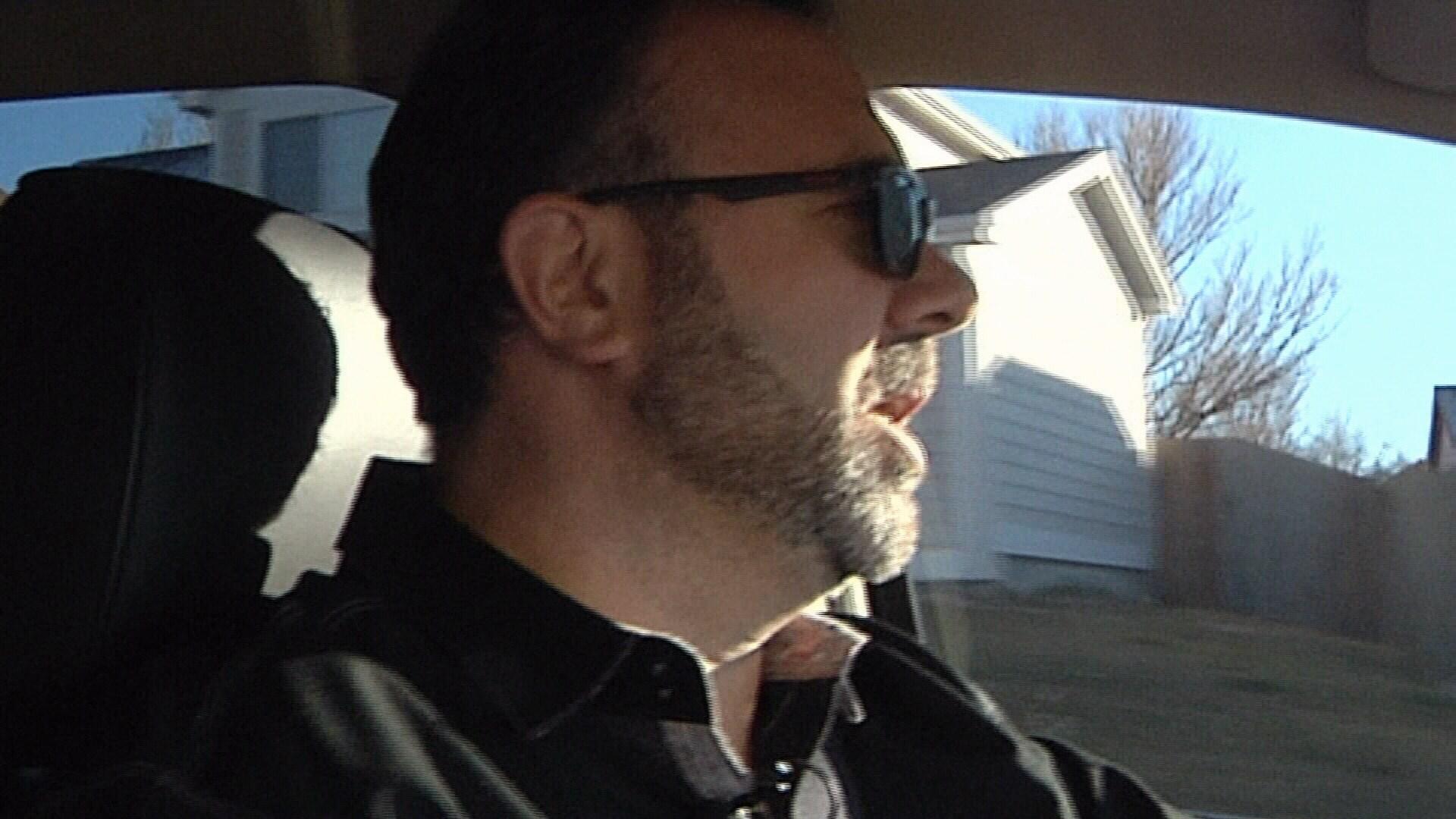 Ride share driver Mark Fruci