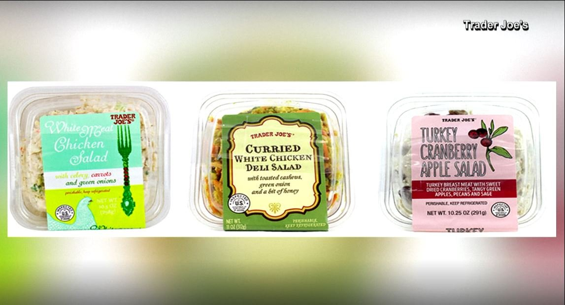 Southern California company issues recall for chicken and turkey salad products