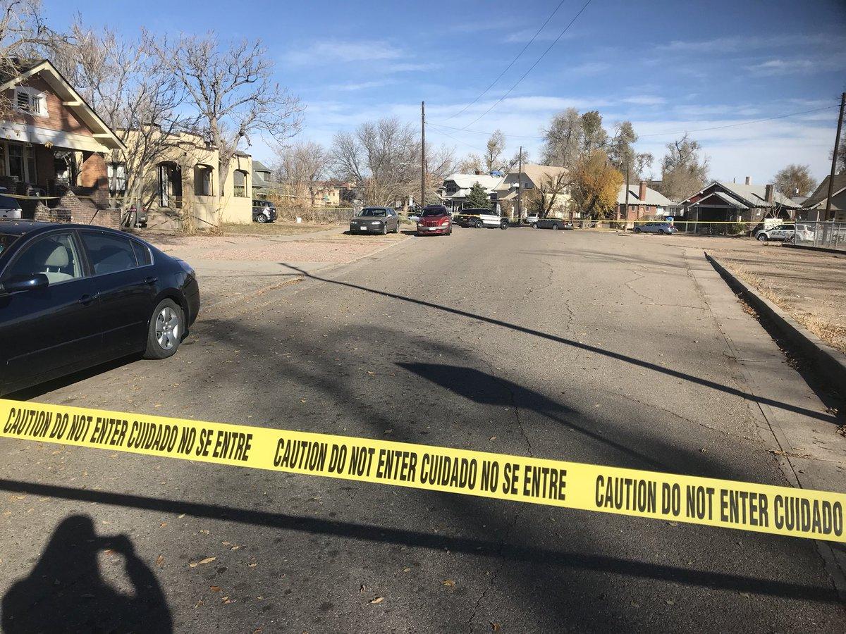 Pueblo Police investigating a triple shooting on Nov. 19, 2017.