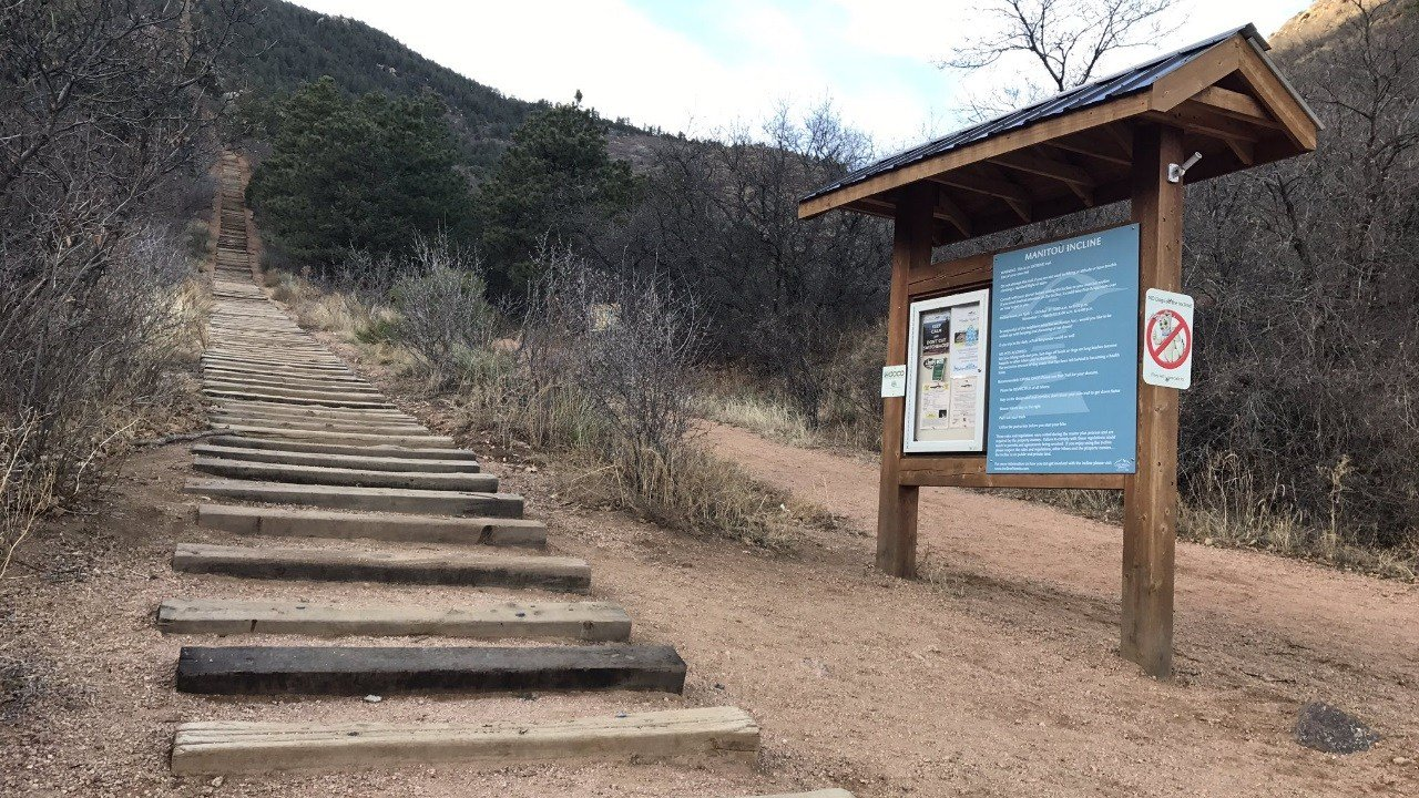 Phase 3 of repairs to the Manitou Incline are complete as of November 22, 2017. (KOAA)