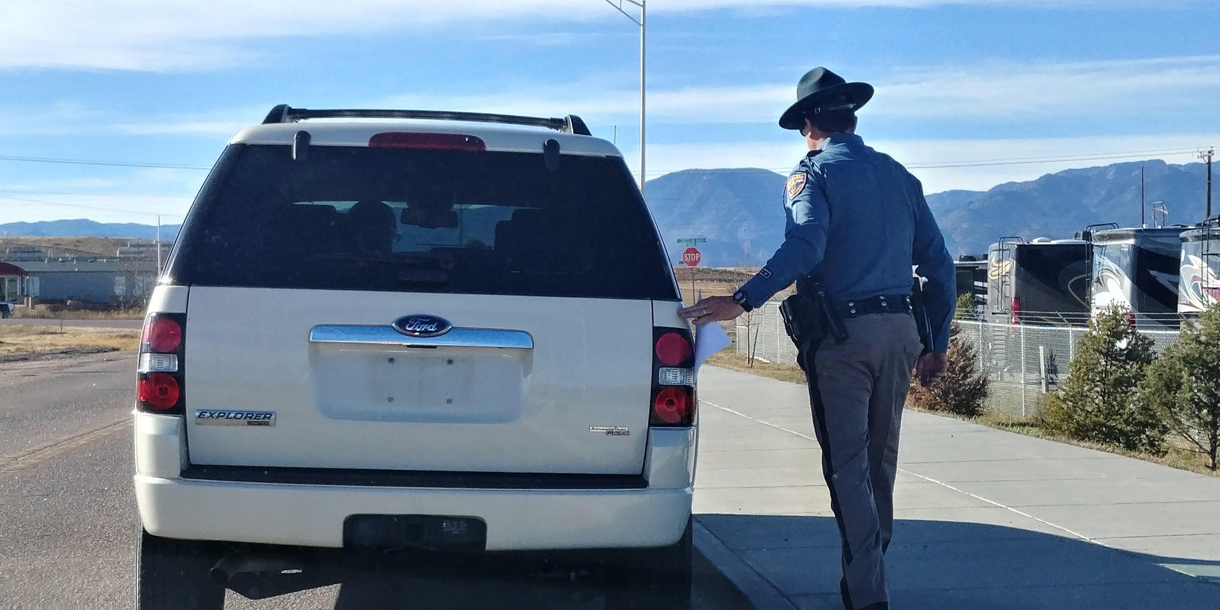 State Patrol makes traffic stop