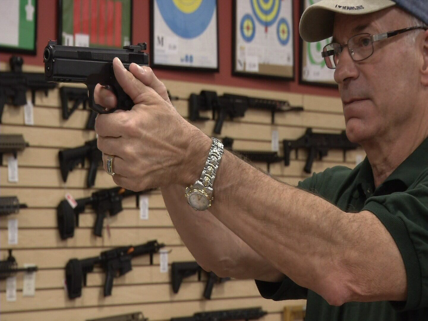 According to new numbers from the CBI, Colorado hit a record high for firearm background checks on Black Friday in 2017. (KOAA)