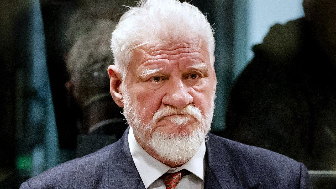 Croatian war criminal dies after drinking poison in United Nations  court