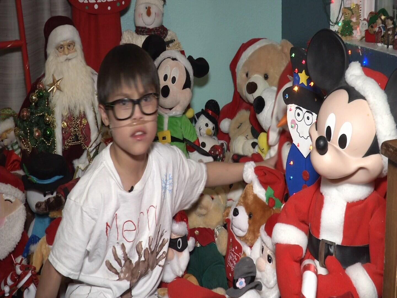 9-year-old Nate Feola asks Santa for a service dog this Christmas. (KOAA)