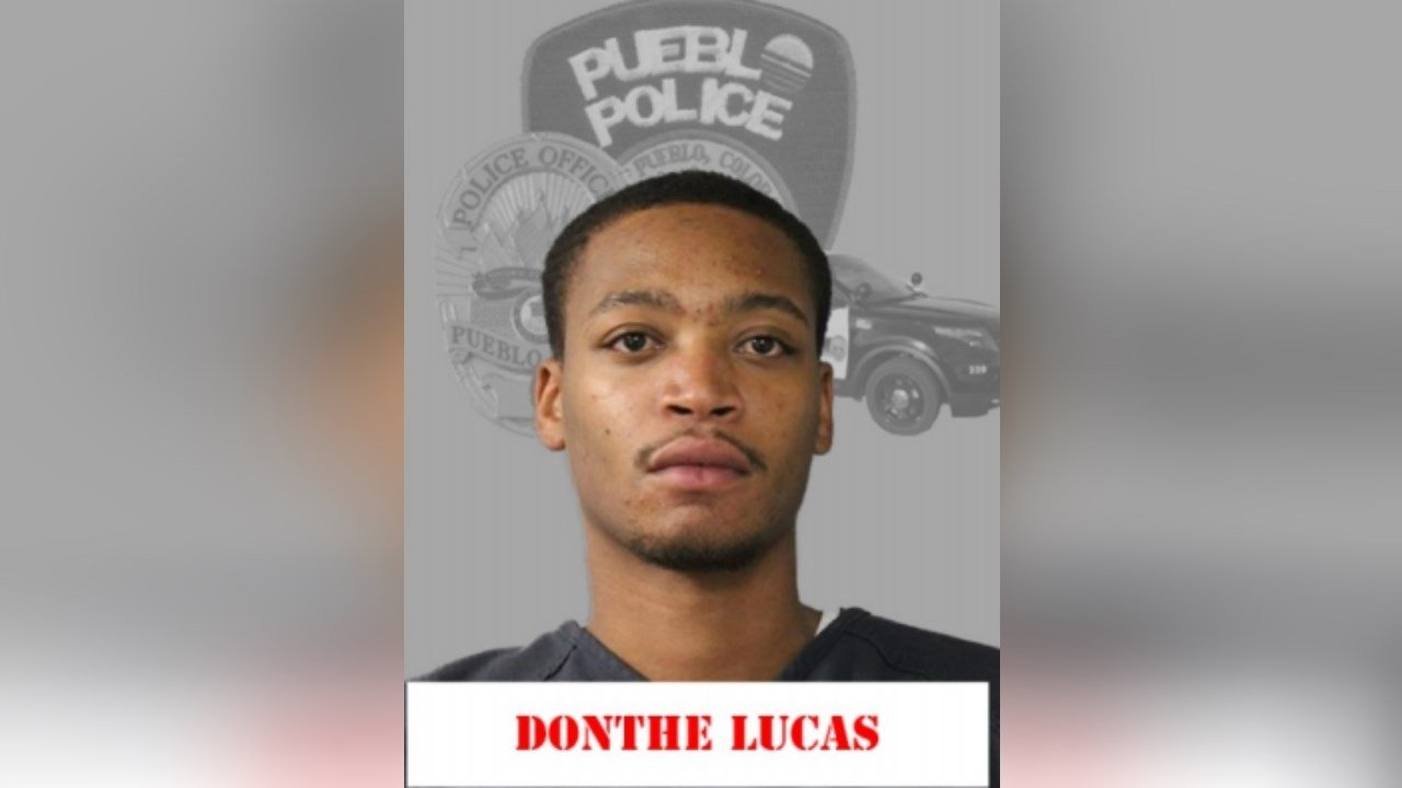 Booking photo of Donthe Lucas (Pueblo PD)